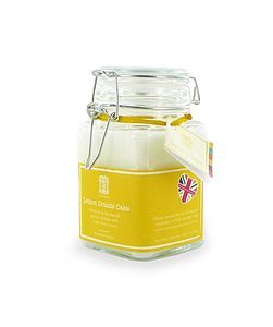Lemon Drizzle Cake Scented Candle - table decorations