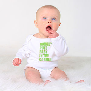 Comedy Quote Babygrow - baby shower gifts & ideas