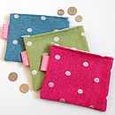 Dotty Coin Purse