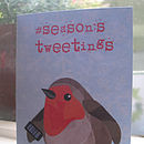 Rockin' Robin And Season's Tweetings