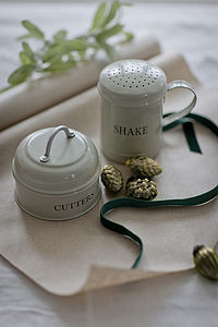 Kitchen Cutters And Flour Shaker - gifts for bakers