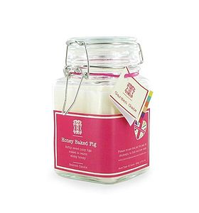 Honey Baked Fig Scented Candle - candles