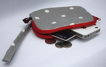 Oilcloth Spotty Clutch Purse
