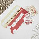 Magic Bus Wedding Stationery