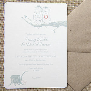 Owl Always Love You Wedding Stationery