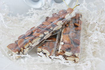 Sicilian Almond Honey Torrone