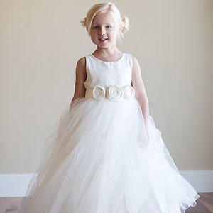 Flower Girl Dress - wedding and party outfits