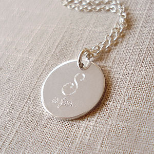 Sterling Silver Sister Necklace - gifts for sisters