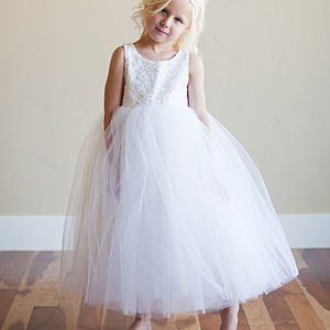 Lace Flower Girl Dress - wedding fashion