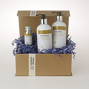 Organic Hair Treatment Gift Set