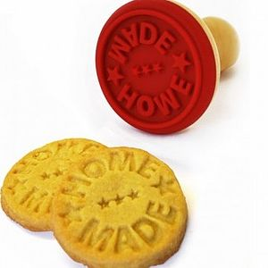 Homemade Or Eat Me Cookie Stamp - cookie cutters