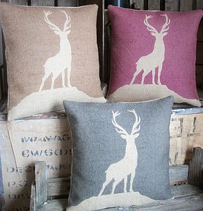 ' Highland Stag ' Cushion - cushions