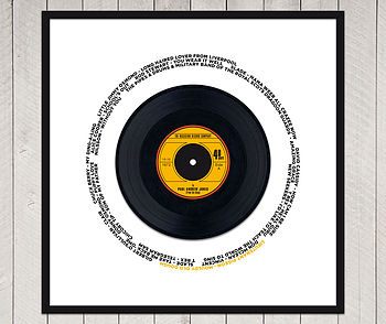 celebration record label 1 in yellow