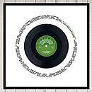 celebration record label 2 in green