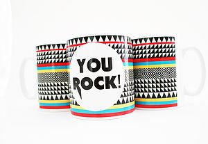'You Rock' Mug - tableware