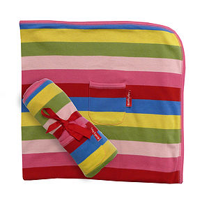 Baby Girls Organic Cotton Blanket