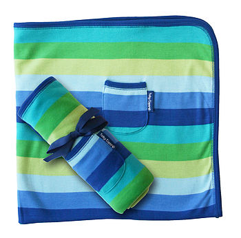 Baby Boy Organic Cotton Blanket