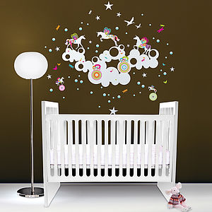 Fantasia Wall Sticker - living & decorating
