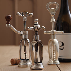Antique Style Corkscrew - kitchen accessories