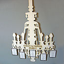 Lasercut Chandelier Table Plan