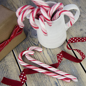Christmas Peppermint Candy Cane - edible favours