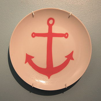 Anchor Decorative Plate