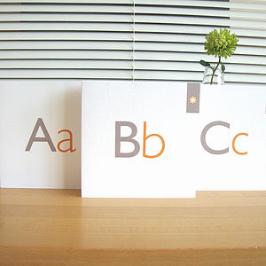 Personalised Letter Cards - blank cards