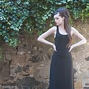 Mae High-Waisted Fish Tailed Long Skirt