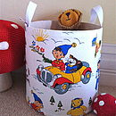 Personalised Noddy & Big Ears Toy Storage