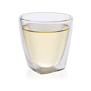 Double Walled Blown Glass Cup 160ml - kitchen