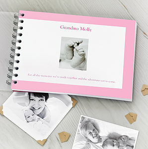 Personalised Grandparent Album - view all gifts for him