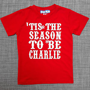 Personalised 'Tis The Season T Shirt - gifts for children