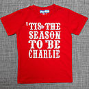 Personalised 'Tis The Season T Shirt