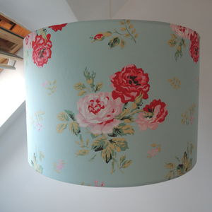Lampshade Cath Kidston Antique Rose Bouquet - bedroom