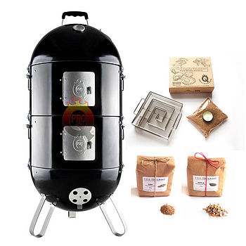 Pro Q Frontier Hot And Cold Smoker Set