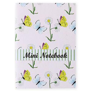 Butterflies And Daisy Notebook