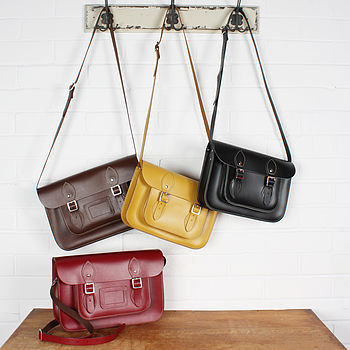 Leather Satchel Classic Collection