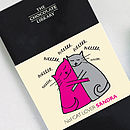 No1 Cat Lover Personalised Chocolate