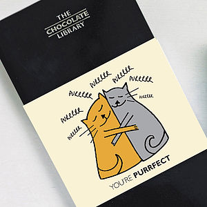 'You're Purrfect' Cat Lover Chocolate - chocolates & confectionery