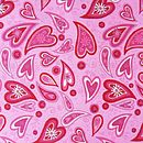 Love hearts pink