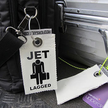 Recycled Sailcloth Luggage Tags