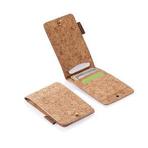 Cork Fabric Wallet - stocking fillers under £15