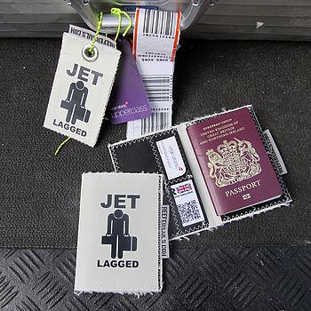 Recycled Sailcloth Passport Holder
