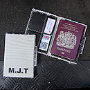 Recycled Sailcloth Passport Holder