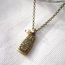 Russian Doll Charm Necklace