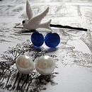 Cats And Dove Jewellery Set