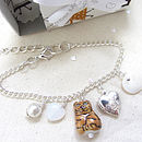 Cat And Dog Handmade Locket Charm Necklace