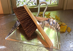 Dustpan And Brush - garden & outdoors