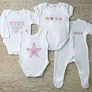 Personalised Babygrow Gift Subscription