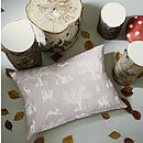 Enchanted Woodland Linen Fabric